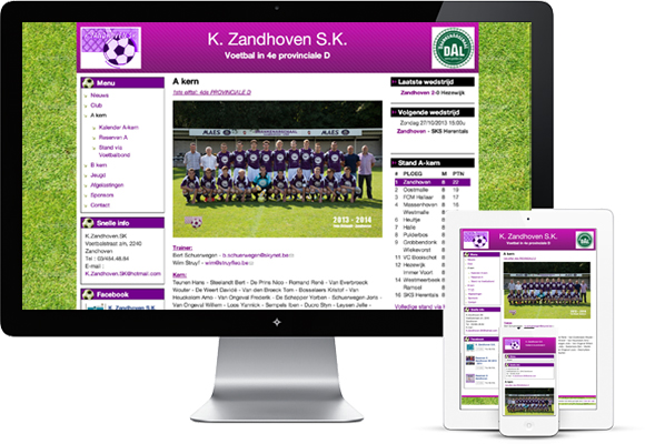 K Zandhoven SK, a great football club without a great budget
